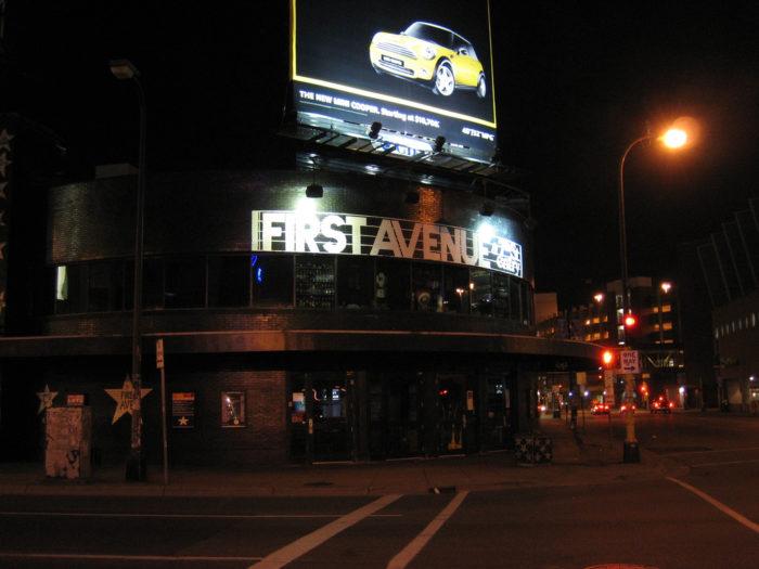 1. First Avenue, Minneapolis