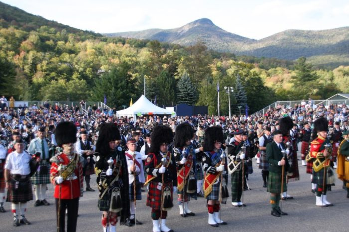 1. New Hampshire Highland Games and Festival, September 16-18