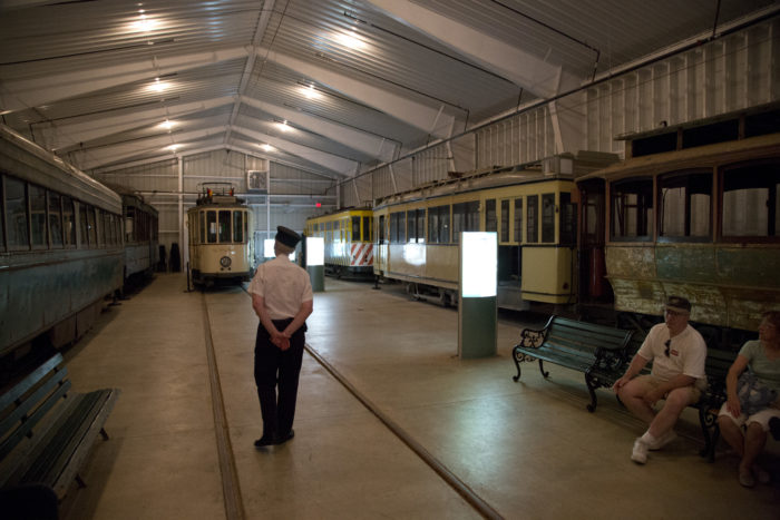 Located in Colesville, you'll find the unique National Capital Trolley Museum.