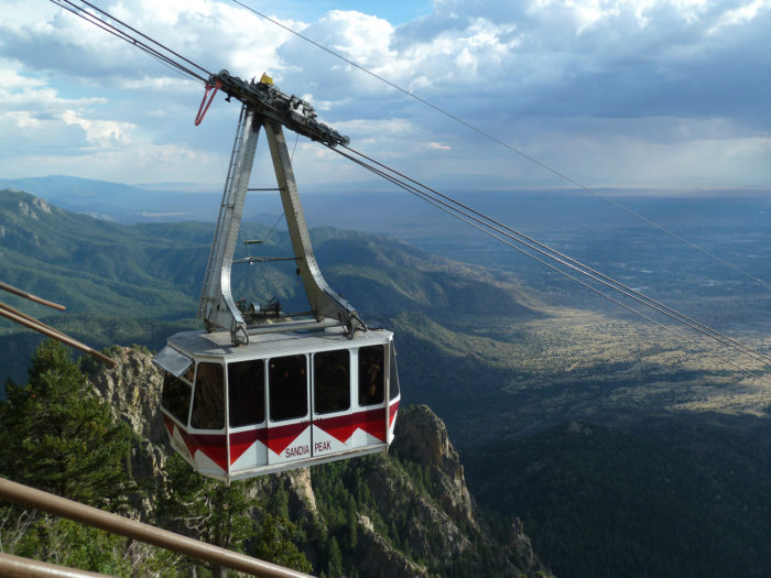 18. Ride the Sandia Peak Tramway.