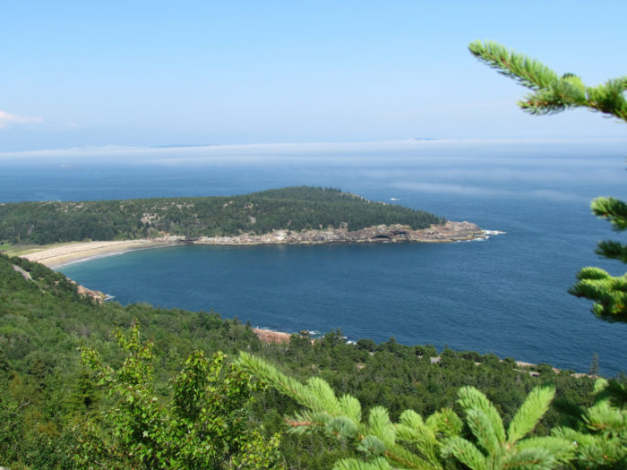 The highest point of the trail is about 145 feet above sea level, reached via a very gradual increase.