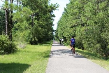 Take A Ride On The Tammany Trace Trail Near New Orleans