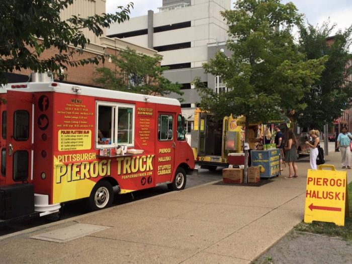 8. Order lunch from a food truck.
