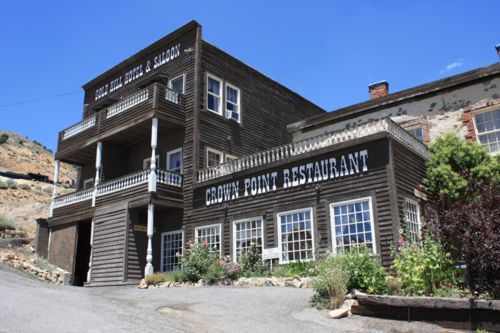 The nearby Gold Hill Hotel & Saloon sees paranormal activity too, such as apparitions of miners in work gear who walk around near the hotel at nighttime. The ghosts come out in full force on the anniversary of the fire.