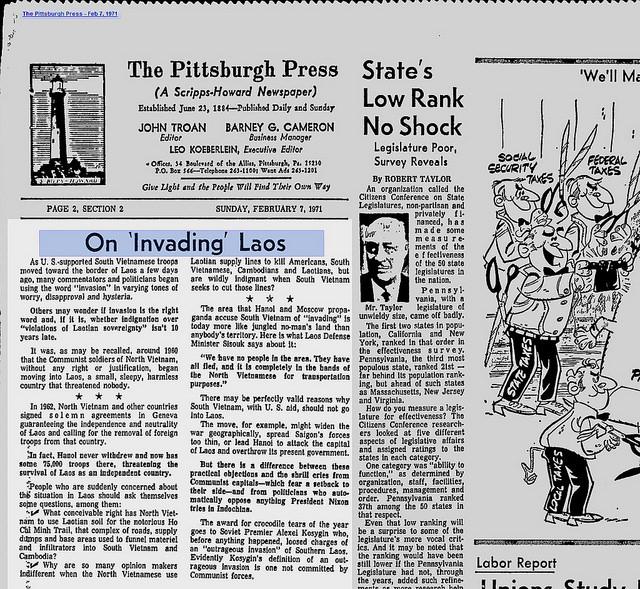 8. Pittsburgh Press versus Pittsburgh Post-Gazette