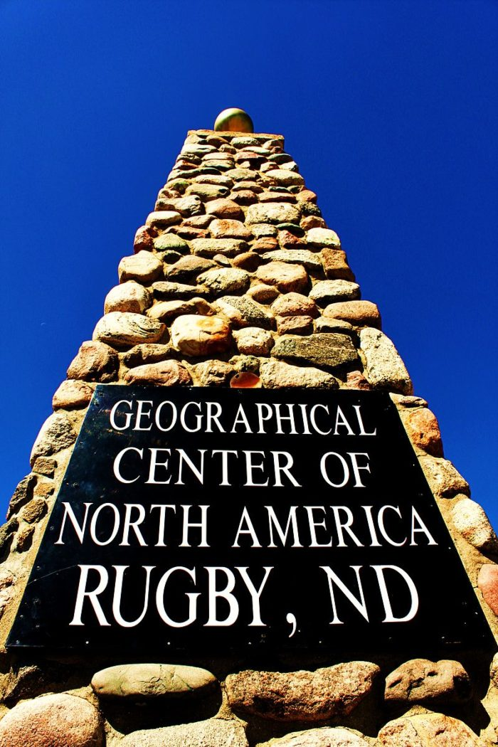 There's no other place in the entire continent where you can stand and say you've been in the dead center - only Rugby has that status!