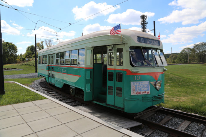 There are streetcars that operate regularly...