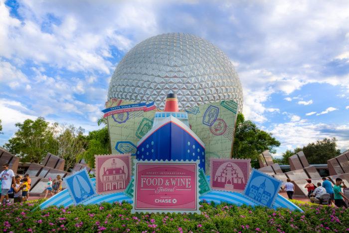 4. EPCOT Food & Wine Festival, Walt Disney World Resort, September 14 - November 14