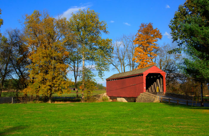 2. Loy's Station Covered Bridge