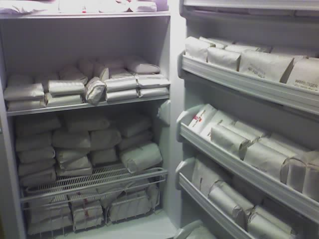 2. Your freezer has elk, bison and trout in it...