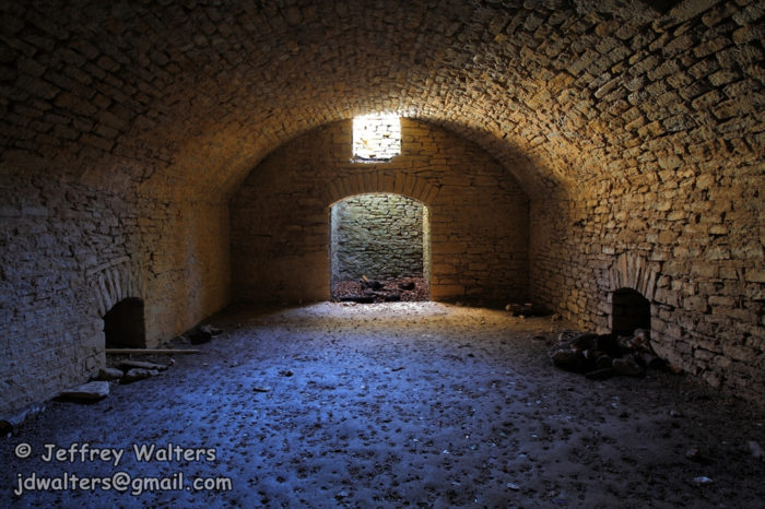 While the utopian society idea of the town failed, a spiritual group still held secret services in the town's underground chapel (pictured.) This underground chapel may have also been used as part of the Underground Railroad.