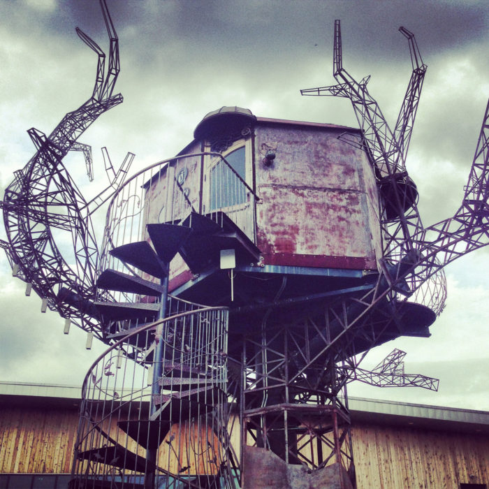 3. Dogfish Head's Steampunk Treehouse