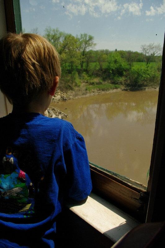 When you ride the regular passenger train -- which runs May through October -- you can expect a relaxing hour and a half long ride complete with incredible views and narration from the knowledgable crew.