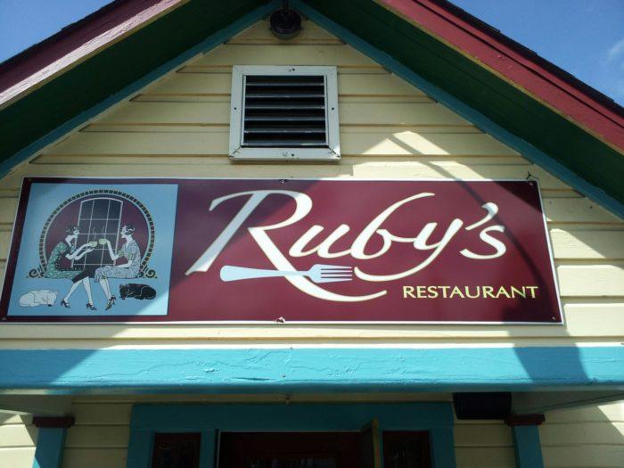 5. Ruby's Neighborhood Restaurant, Ashland