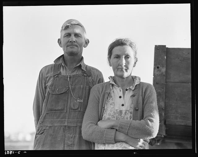 10. A couple in Imperial County poses for a photo during a time of struggle.