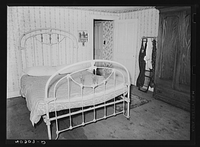 2. Bedrooms certainly weren't as decorated!