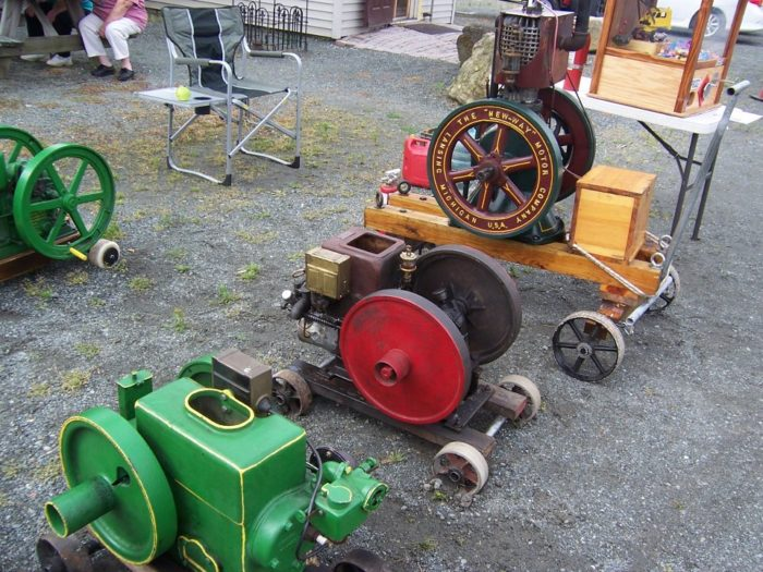 Other events throughout the year include a tractor show, a vintage toy swap meet, and regular auctions in the Treasure Barn.