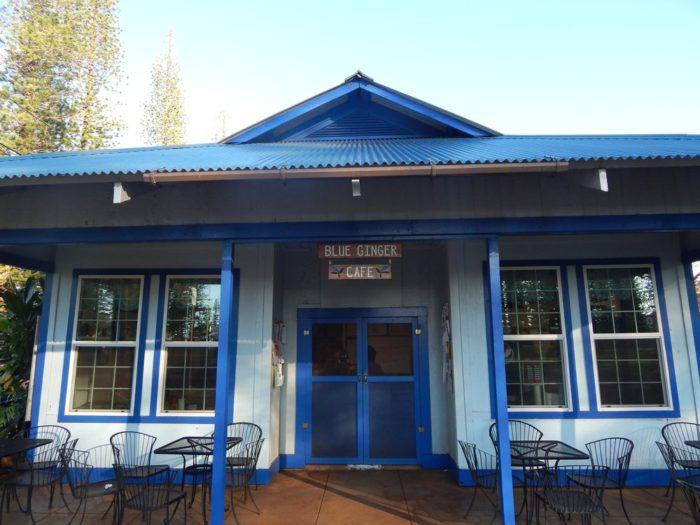 9. Blue Ginger Cafe, Lanai City