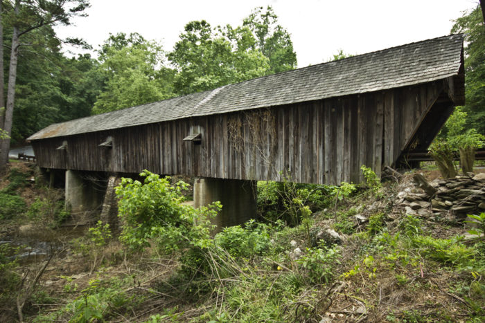 You'll also be able to see the Concord Covered Bridge, which is the last remaining covered bridge in the Atlanta area.