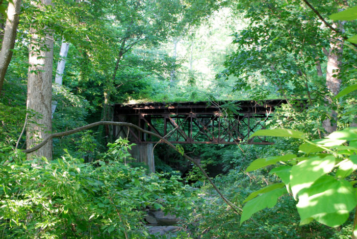 Glen Echo Trolley Trestle, Foundry Branch Valley Park