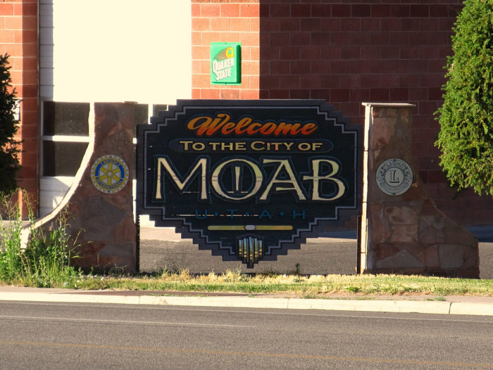 Welcome to Moab, population 5,130 or so.