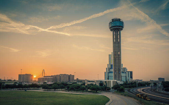 You can also stop at the majestic Reunion Tower and take in 360-degree views of Dallas from hundreds of feet in the air.