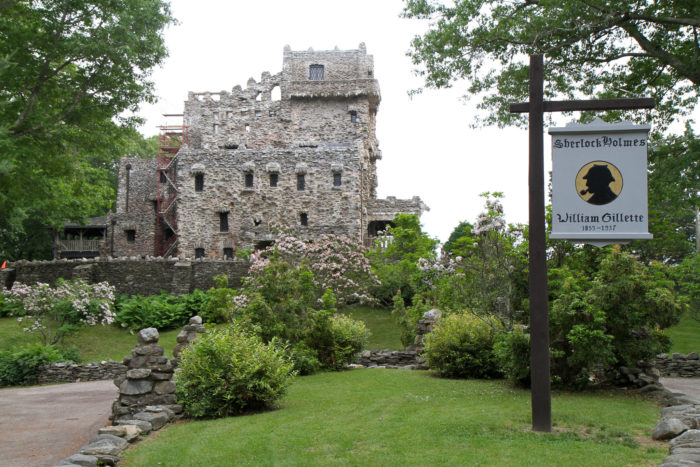Gillette Castle State Park is located in East Haddam.
