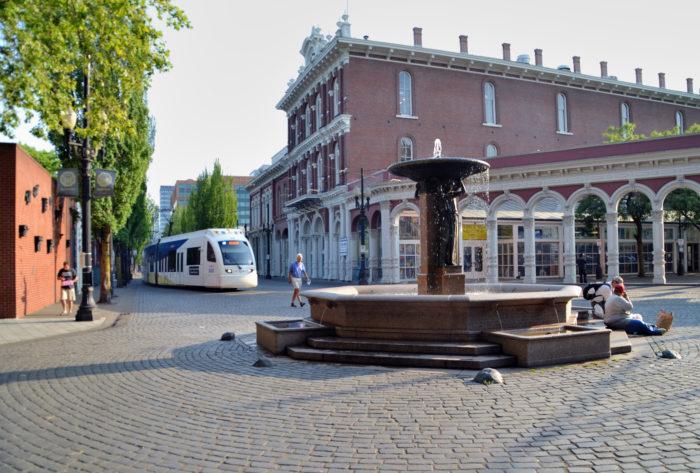 1. Skidmore Fountain