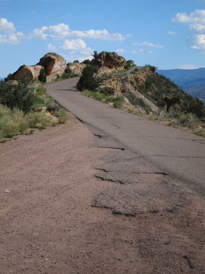 Located just outside of Canon City, Skyline Drive is a steep and narrow overlook that offers killer 360 degree views of the surrounding countryside.
