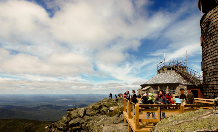 4. Never visited our High Peaks? Then take a drive up to Whiteface Mountain.