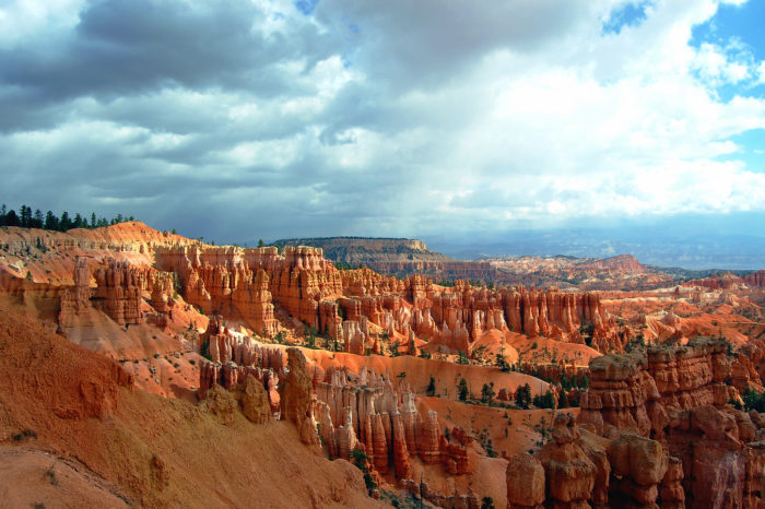 Bryce Canyon National Park is nearby.