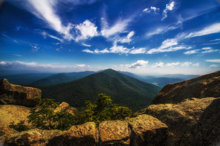 """8. Argue that Virginia doesn't have any """"real mountains"""""""
