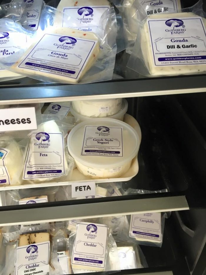 If you love goat cheese, you'll love Gothberg Farms.