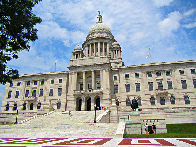 2. The Rhode Island State House, Providence