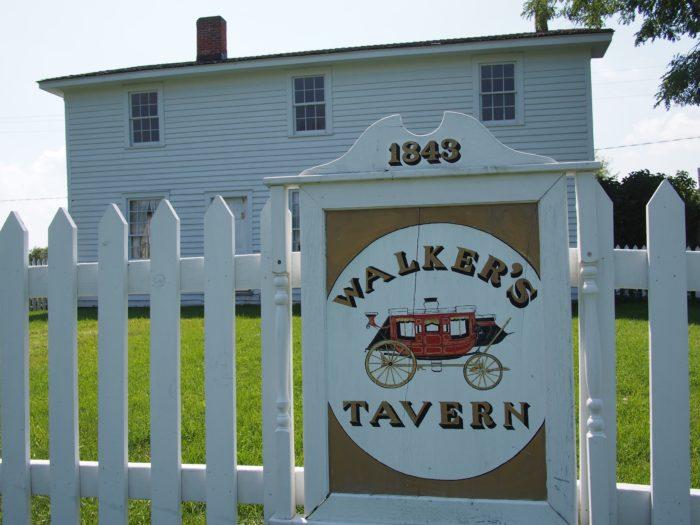 1843 Walker's Tavern