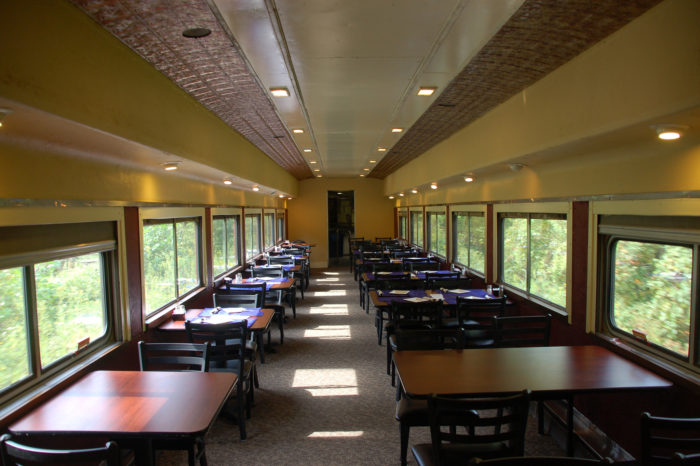 """You can even take a wine and beer tasting excursion aboard the Cuyahoga Valley Scenic Railroad. """"Grape Escape"""" and """"Ales on Rails"""" take place in the autumn and winter months."""
