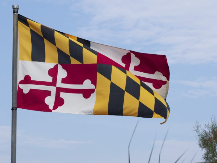 4. In fact, we're more likely to wave the Maryland flag than the American one.