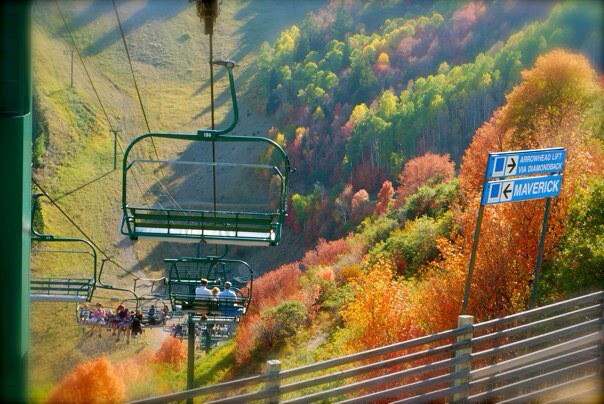 Stop at Sundance, about 16 miles from American Fork Canyon. Ride the lift to get an eagle's eye view.
