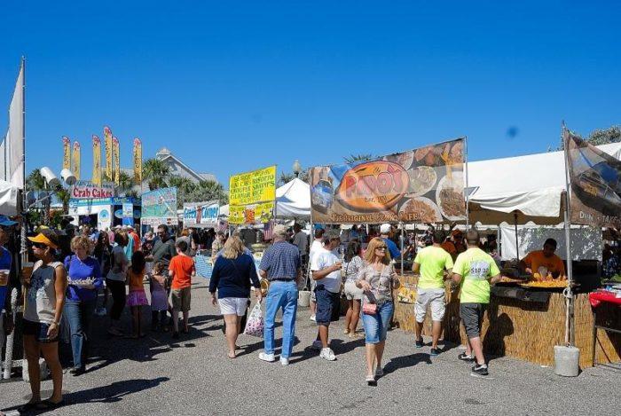 1. John's Pass Seafood Festival, Madeira Beach October 27 - 30