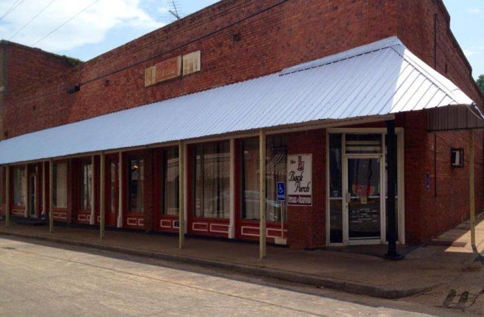 8. The Back Porch— 297 Buford St, Shellman, GA 39886