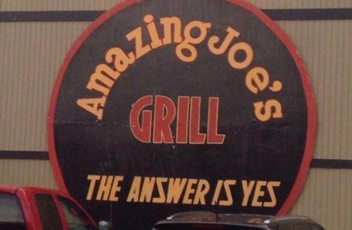 7. Amazing Joe's Grill - Muncie