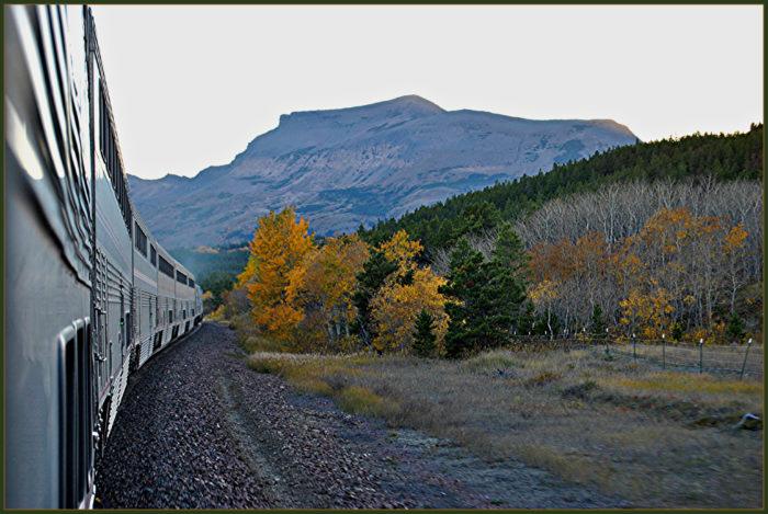 Amtrak _Empire Builder_ @ Bison Montana-15423195720