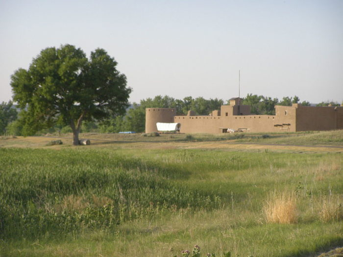 ...and iconic Bent's Old Fort.