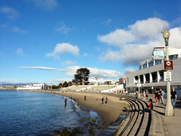 4. Aquatic Park: Beach Street and Hyde, San Francisco.