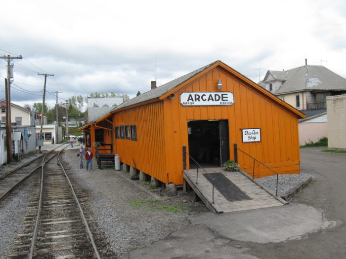Located out in Western New York, you won't have a hard time finding the Arcade & Attica Railroad!