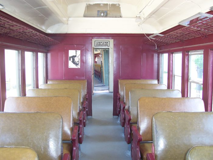 As soon as you step inside the train, you'll be taken back in time.