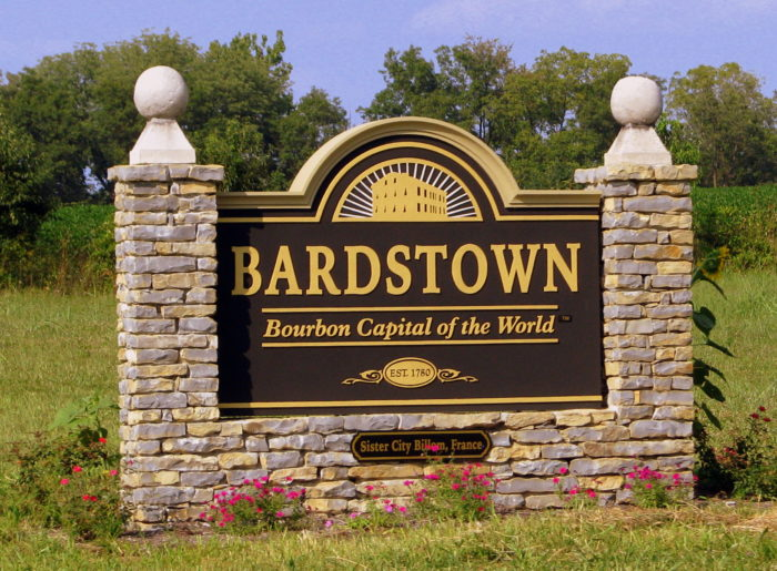 Bardstown is home to under 13,000 people.
