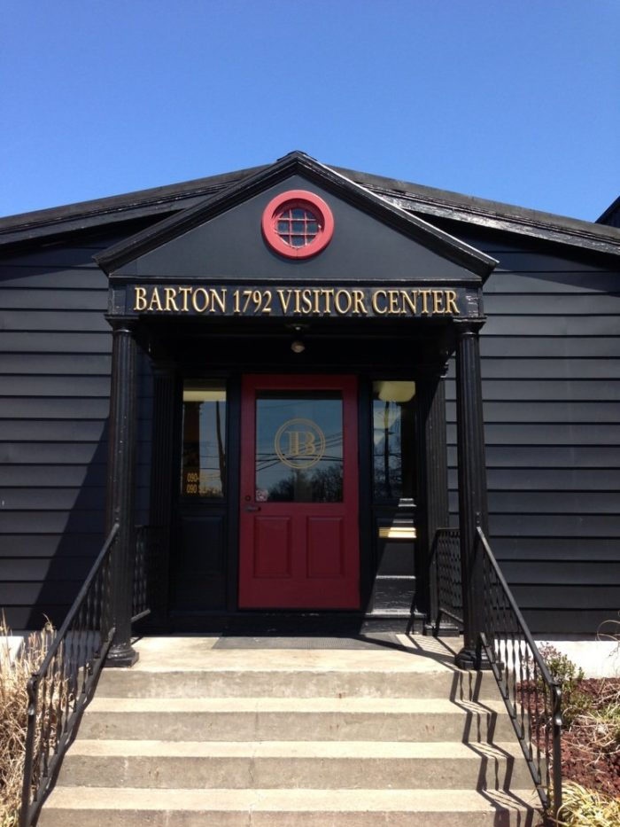 Bardstown is the bourbon capital of the world.