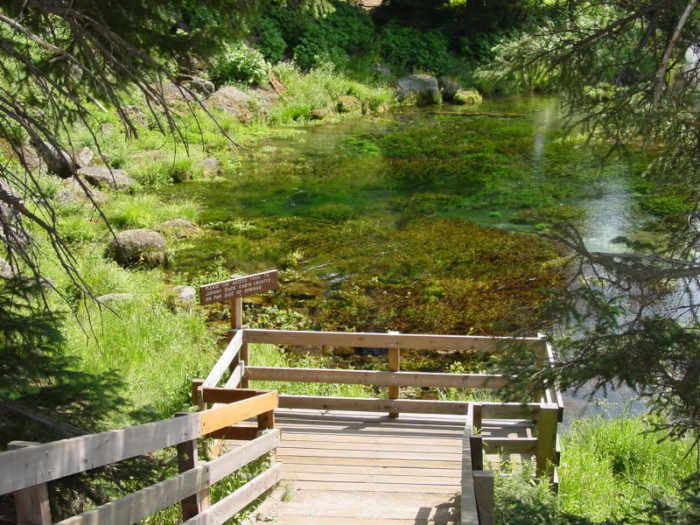 Tucked away in Idaho's eastern corner and just minutes away from Yellowstone is a picturesque oasis: Big Springs.