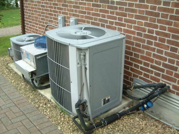 5. You've had to use the AC unit and heater in the same day.